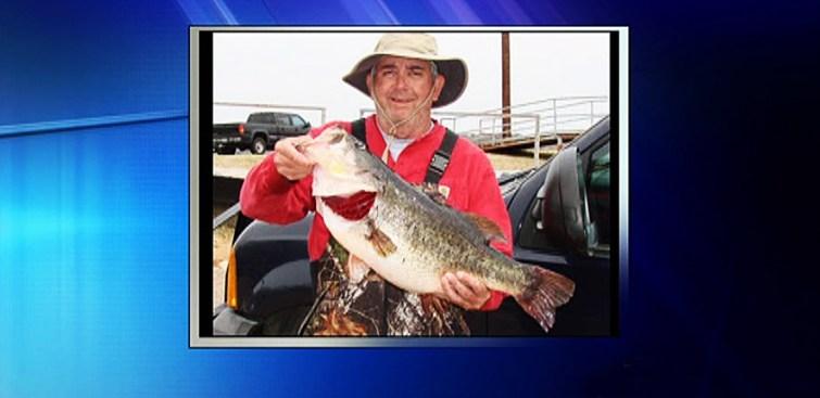 14-Pound Bass Caught in Lake Amon G. Carter
