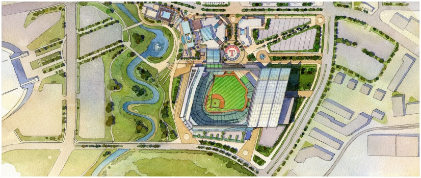 Arlington Taxpayers, Businesses Weigh Stadium Plan