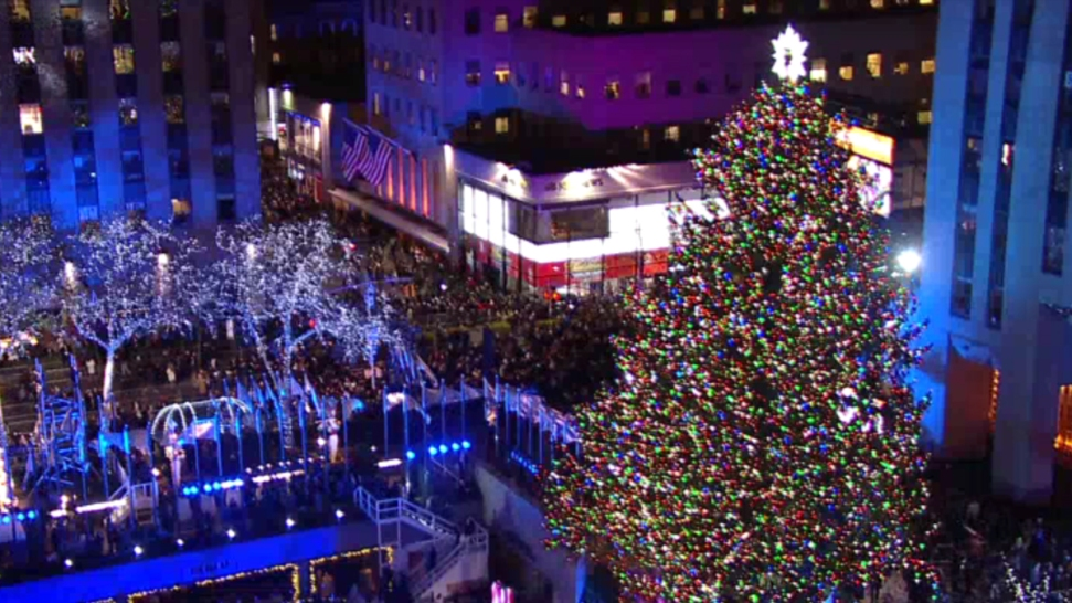 WATCH LIVE: The Rockefeller Center Christmas Tree - WATCH LIVE: The Rockefeller Center Christmas Tree - NBC 5 Dallas