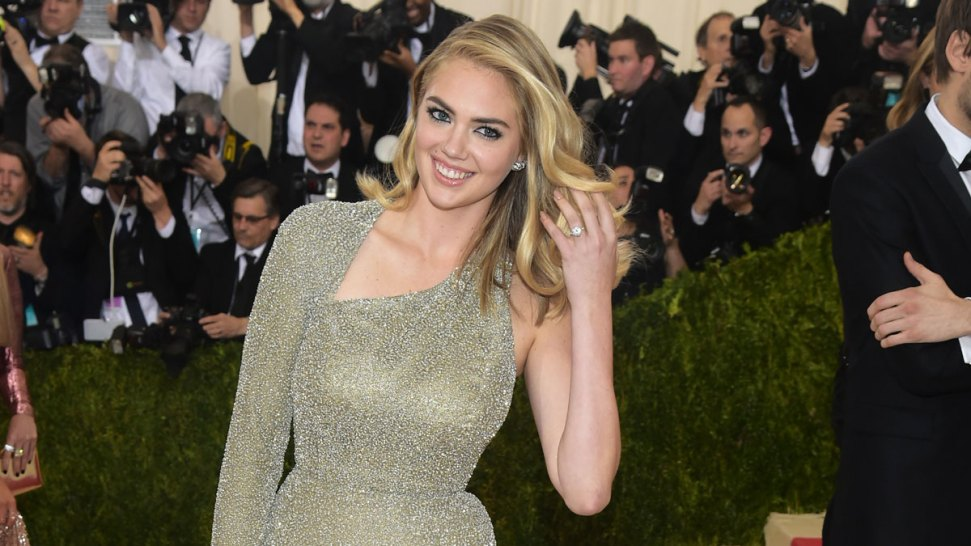 Kate Upton Is Engaged to Justin Verlander, Shows Off Huge Ring at Met Gala