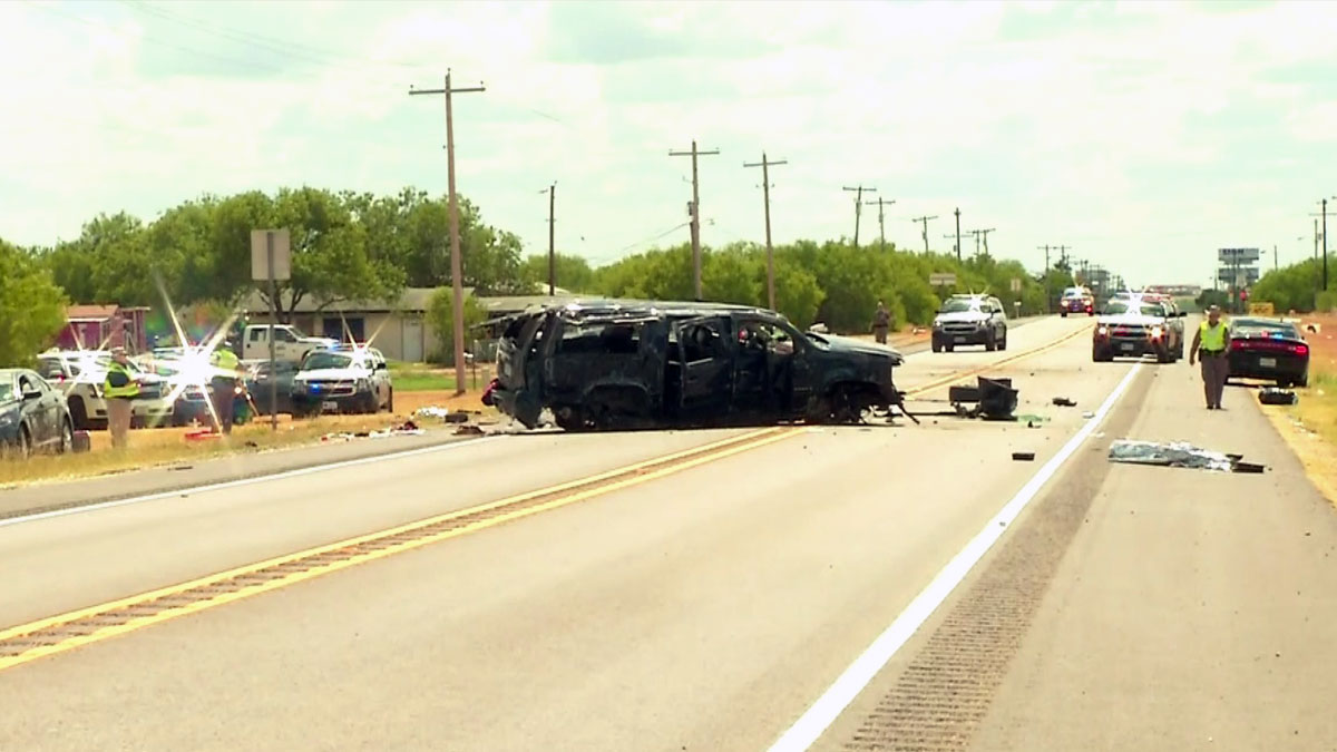 5 immigrants die in car accident after border patrol chase - dallas