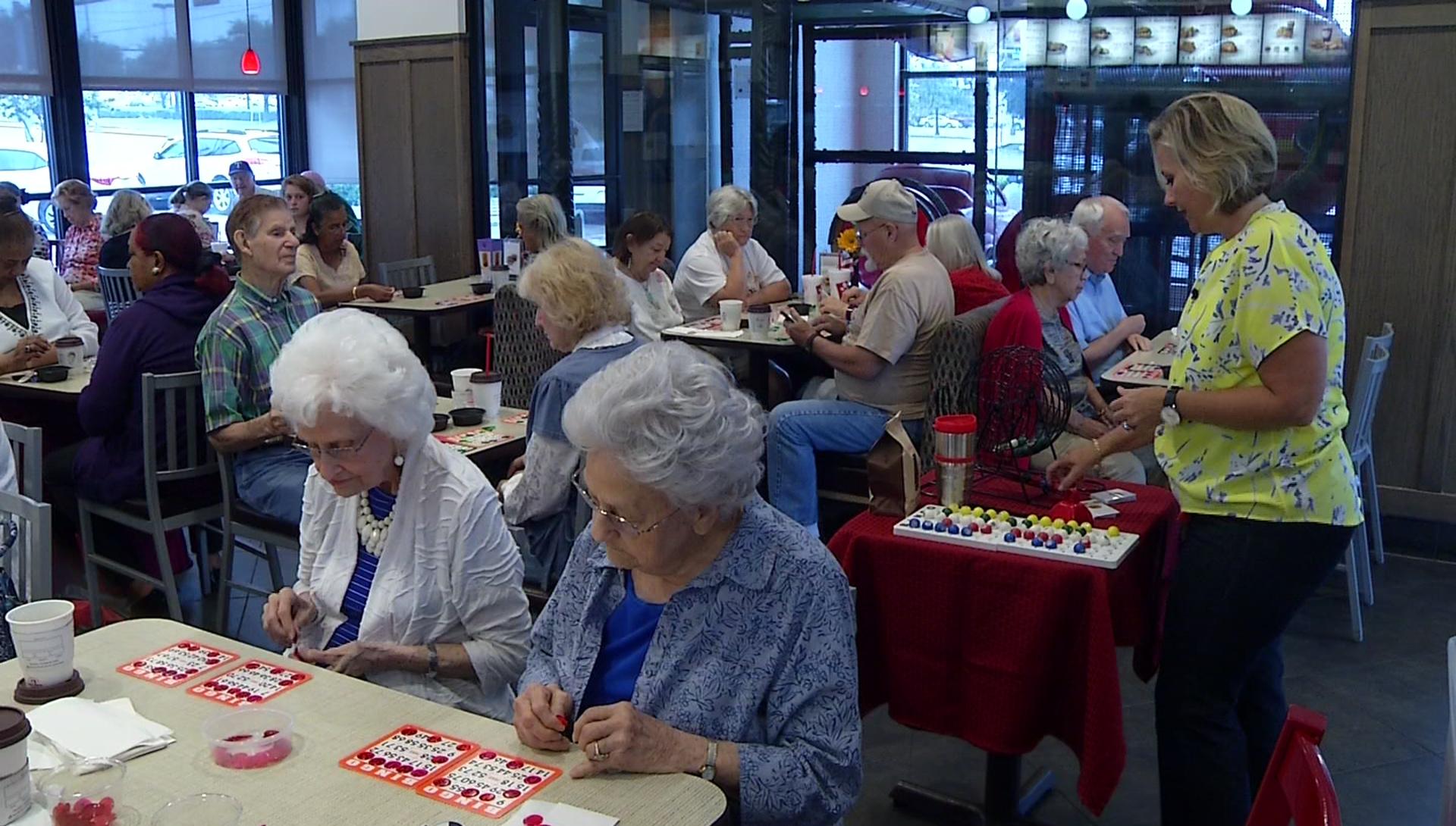 Restaurant Hosts Senior Citizen Bingo