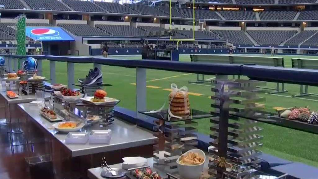 At t stadium embraces diversity with new menu fort worth for Dining at t stadium
