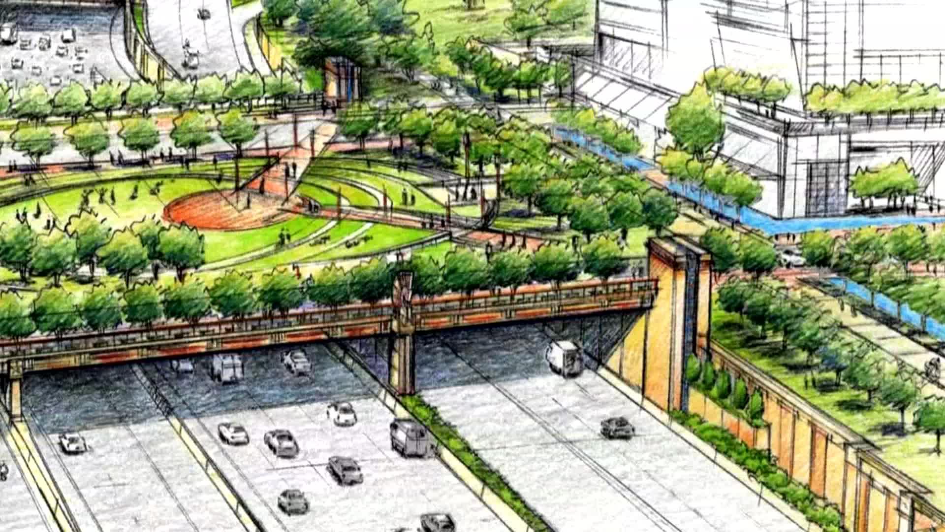 Council Accepts 40 Million To Build Deck Park Near Dallas
