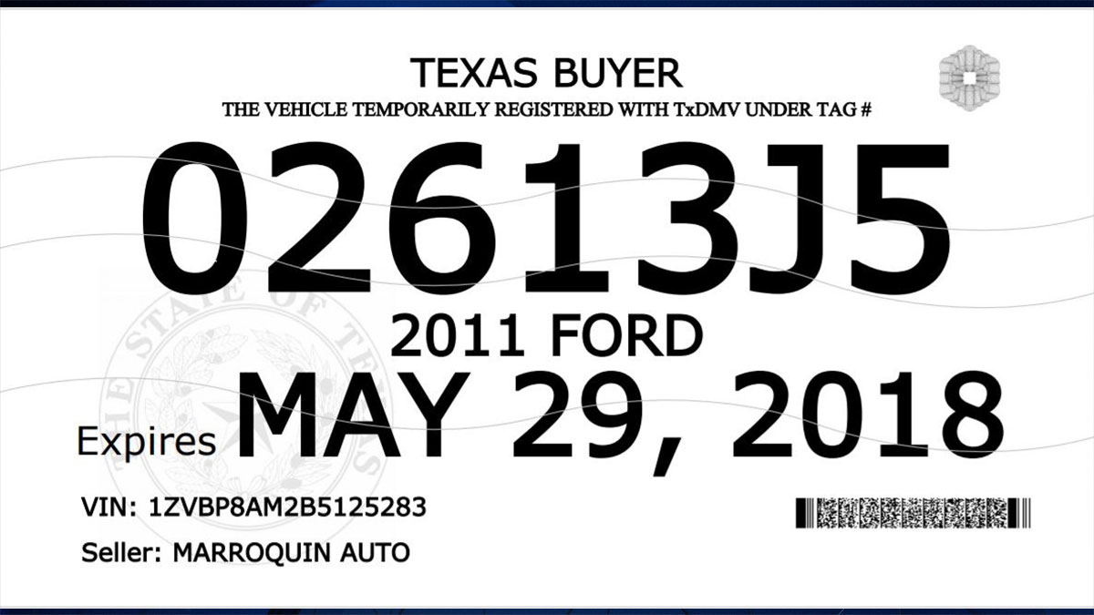 Txdmv rolls out new buyer tags with additional security for Department of motor vehicles closest to me