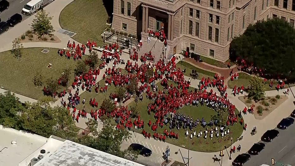 Day of the Girl Rally in Downtown Fort Worth