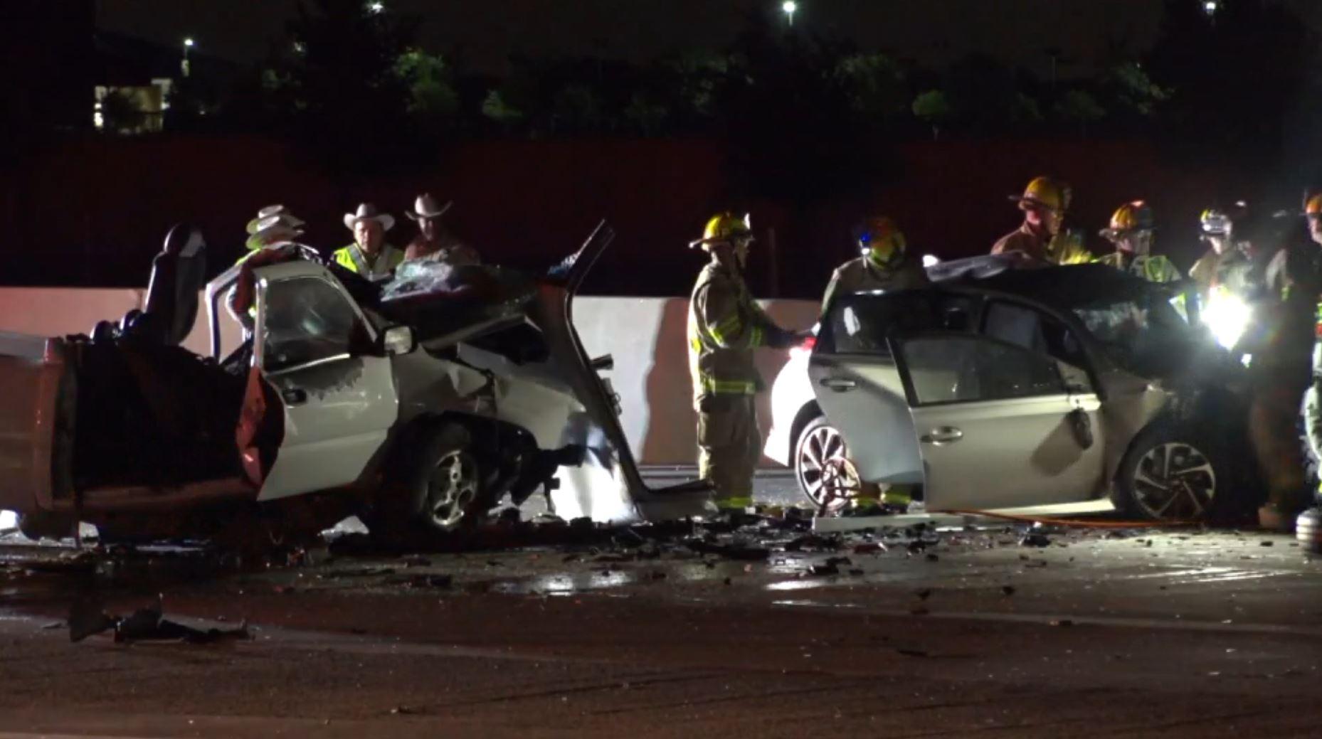deadly wrong-way crash closes sb lanes of hwy 360 - dallas news