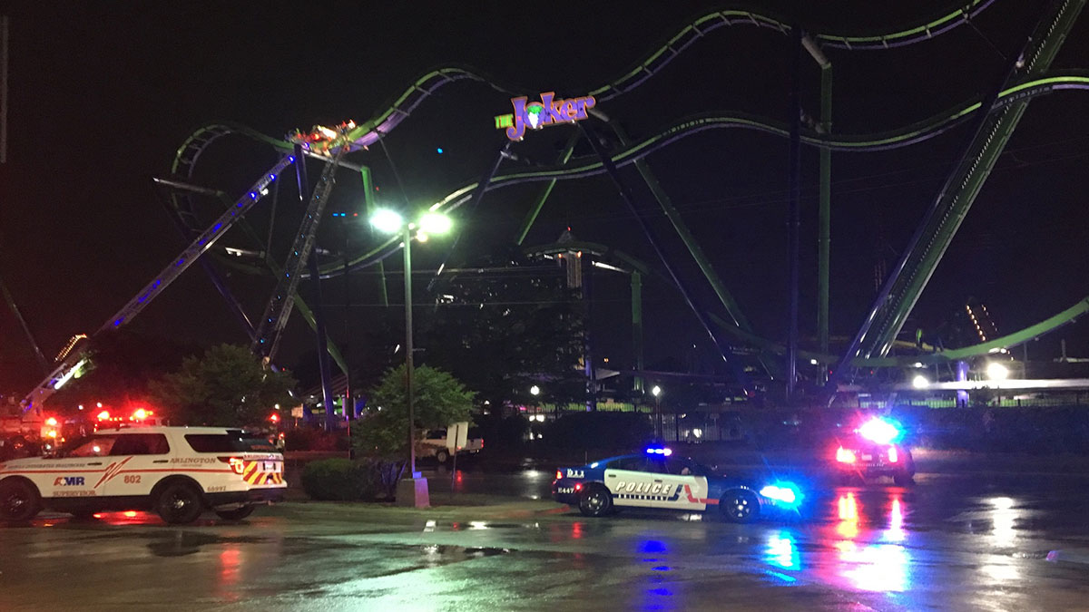 Passengers on 'Joker' Coaster Freed After 3.5-Hour Rescue