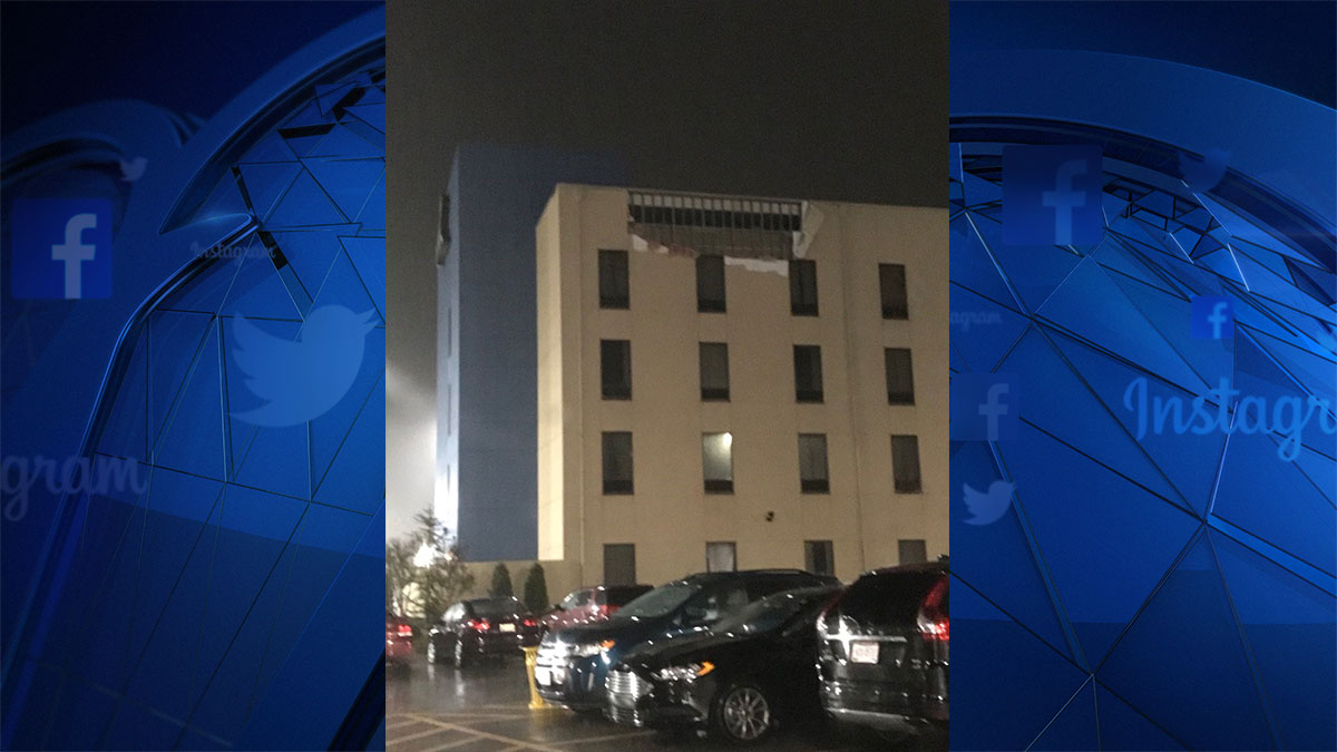 Storm Damage at Riverwind Casino in Norman Oklahoma