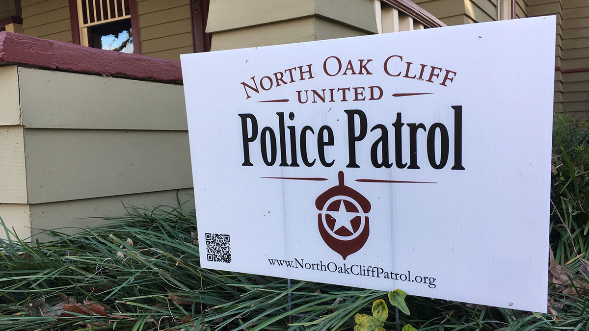 North Oak Cliff Neighborhoods Fighting Crime With Own Police Patrol
