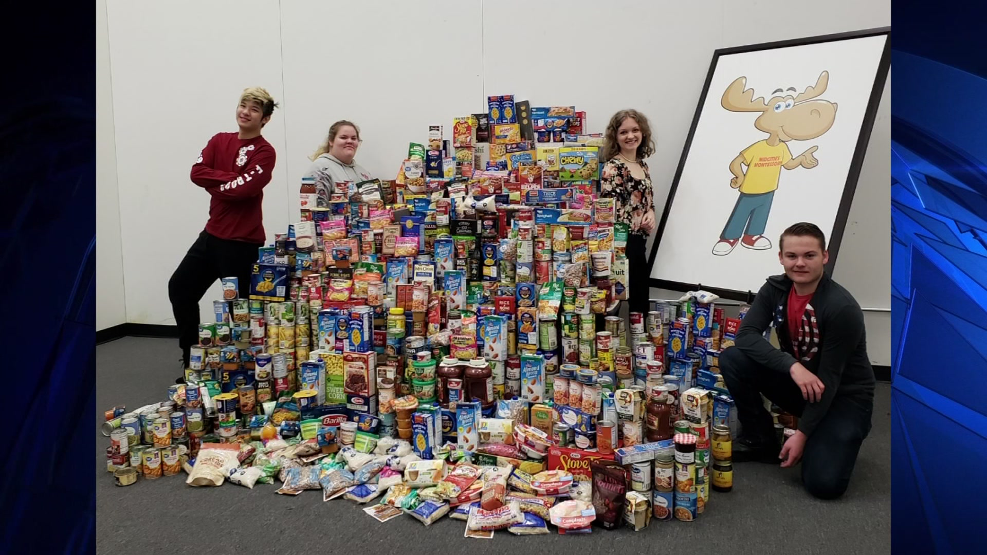 TMSG: Students 'Pack the Pantry'