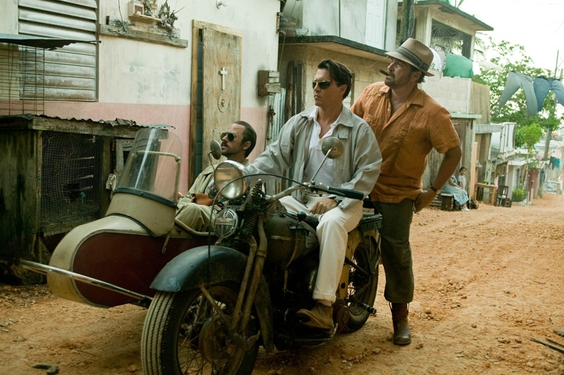 "Johnny Depp's ""The Rum Diary"" Offers Up First Pics"