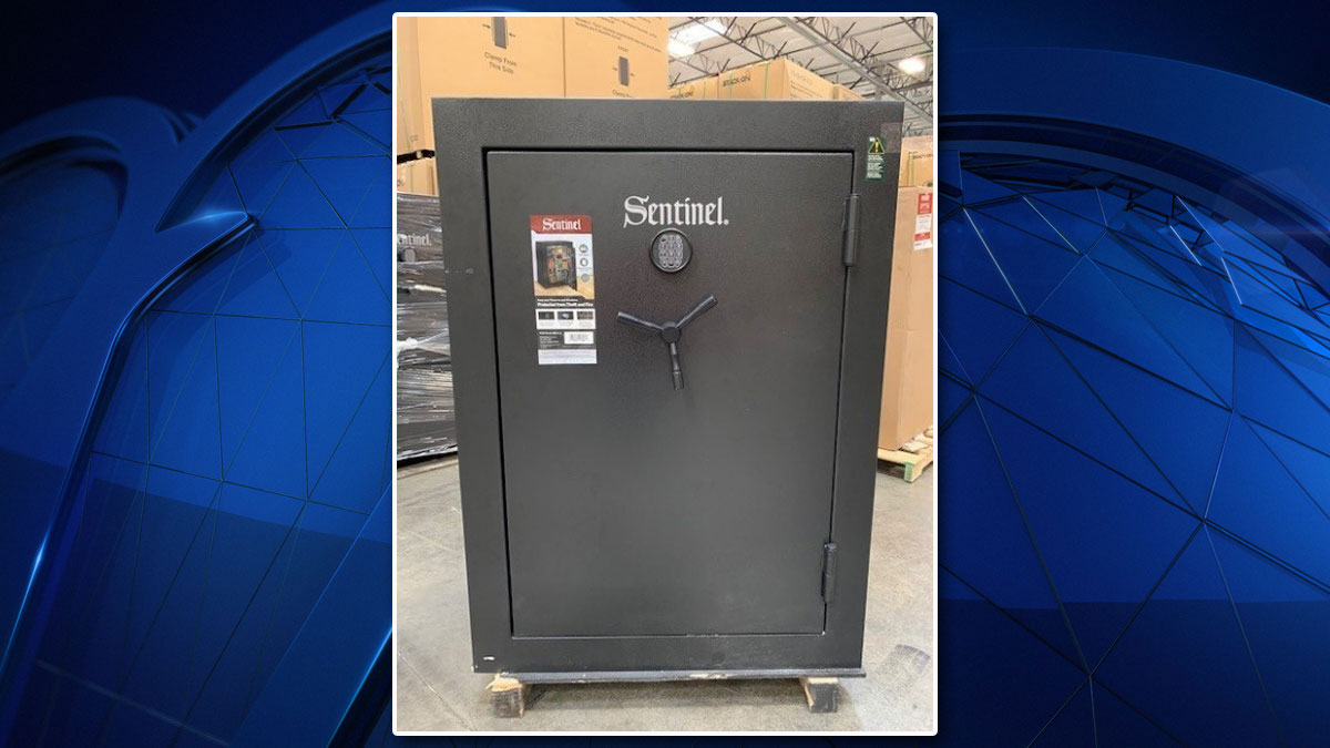 Gun Safe Sold Nationwide Recalled Over Lock Failure