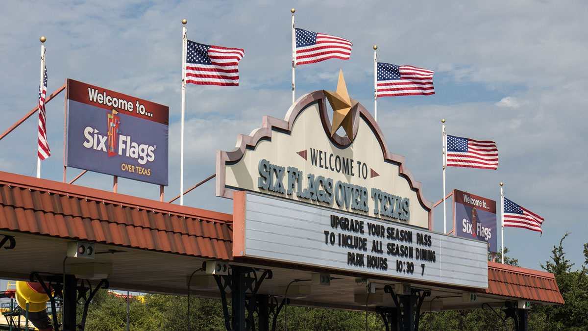 Six Flags Flag Change A Theft Of History Texas Ag Comm