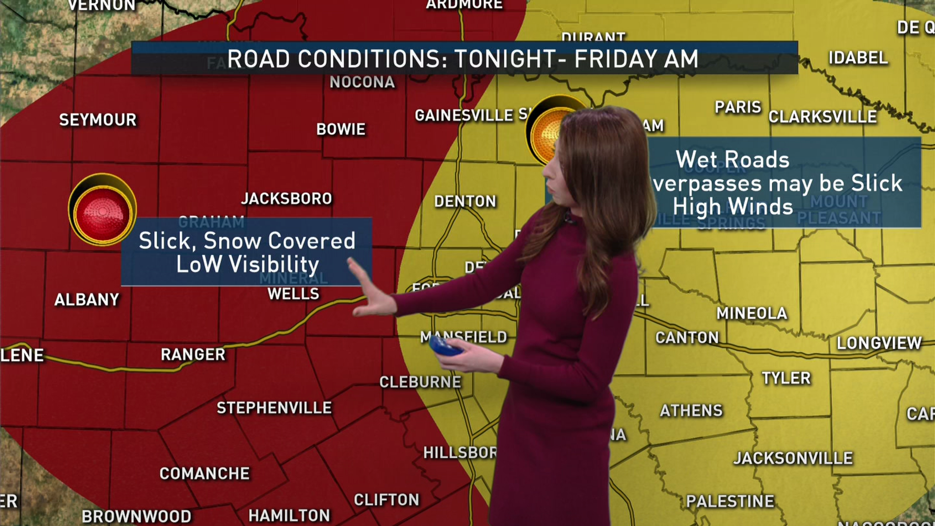 What to Expect on the Roads Thursday Afternoon