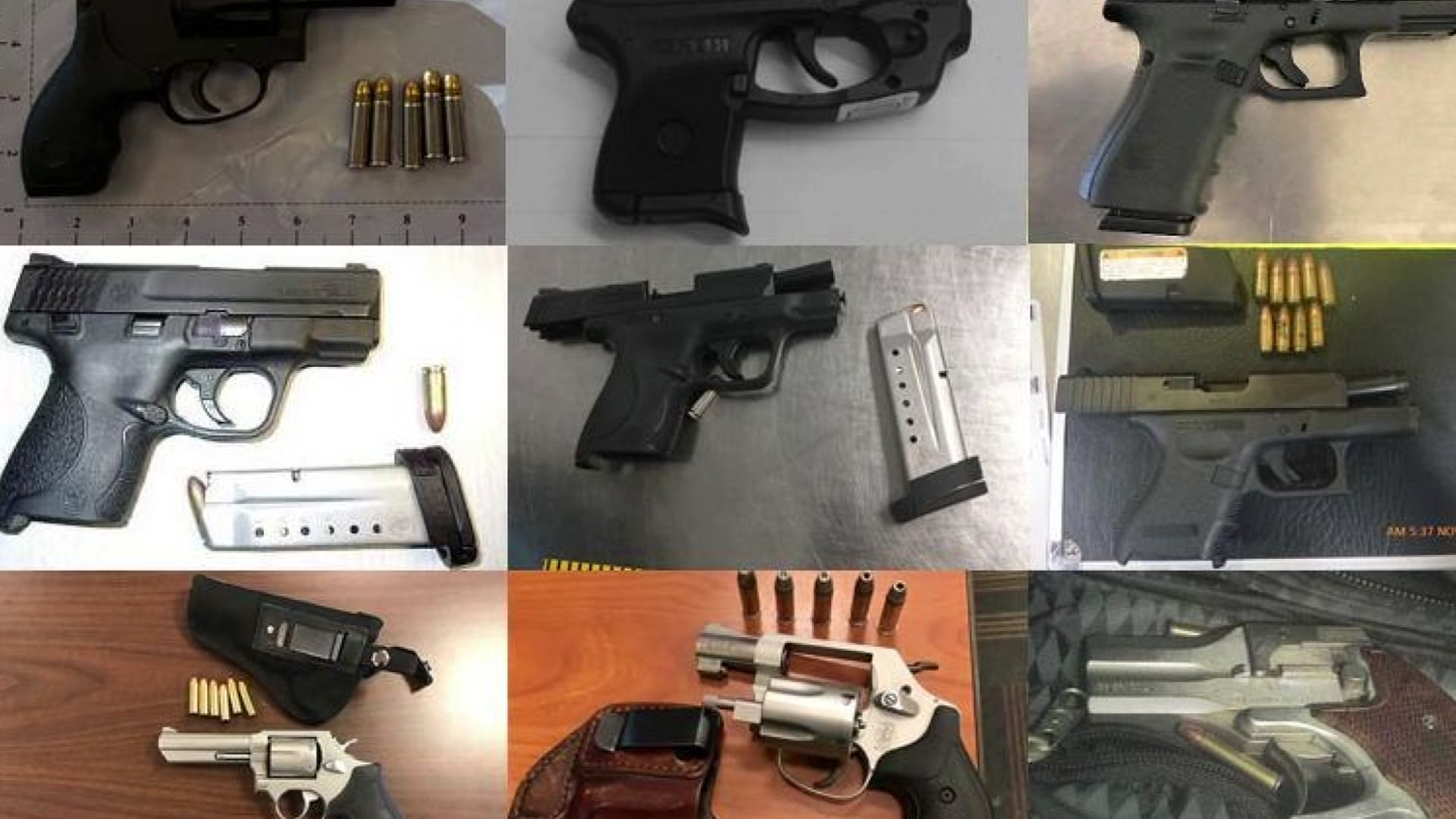 Don't Get Caught With a Gun at Airport Security